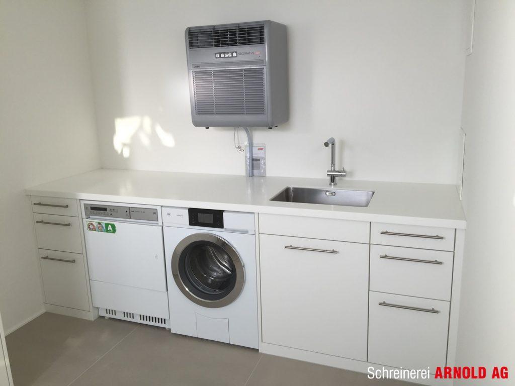 Einbauten waschkuche schreinerei arnold ag for Waschküche m bel