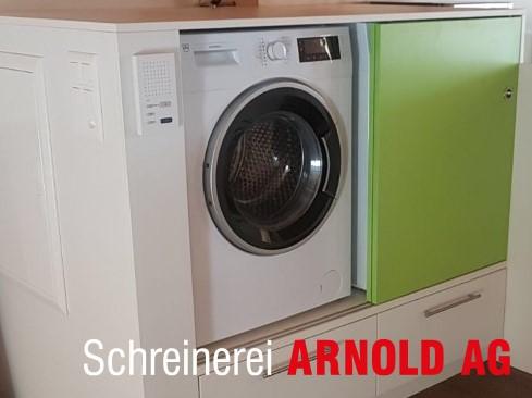 Waschmaschine und trockner verkleiden u schreinerei arnold ag