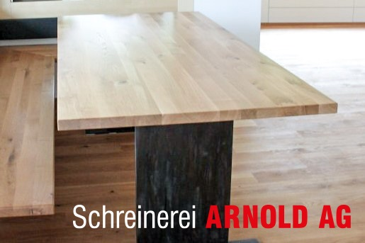 eckbank nach mass mit tisch schreinerei arnold ag. Black Bedroom Furniture Sets. Home Design Ideas